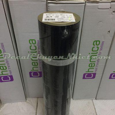 Decal chuyển nhiệt màu đen Pháp PVC 103