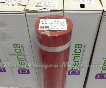 Decal chuyển nhiệt màu đỏ ép áo Pháp 106 (PVC)