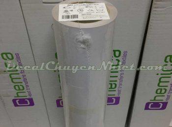 Decal chuyển nhiệt Pháp Hotmark Revolution White 301 chống nhiễm màu