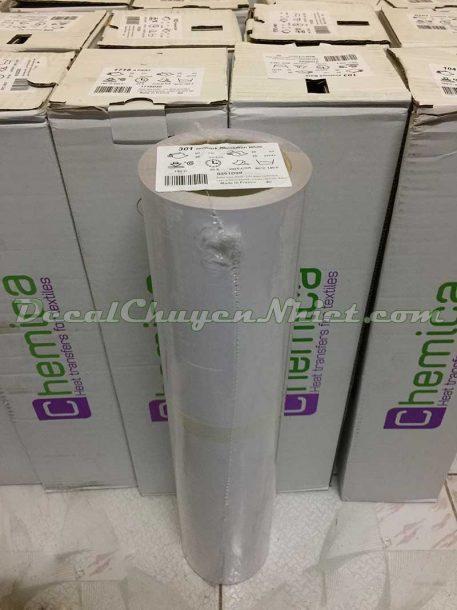 Decal chuyển nhiệt Hotmark Revolution White 301 chống nhiễm màu Pháp