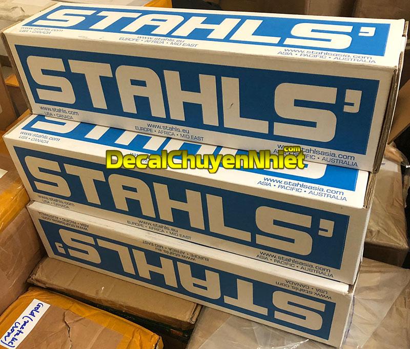 Decal chuyển nhiệt Mỹ STAHLS tại DecalChuyenNhiet.com